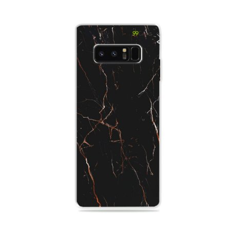 Capa para Galaxy Note 8 - Marble Black