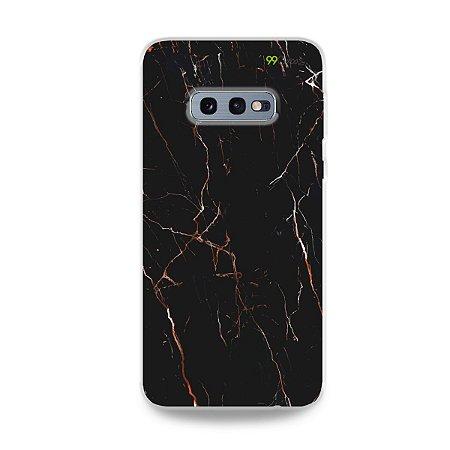 Capa para Galaxy S10e - Marble Black