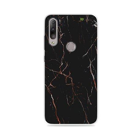 Capa para Zenfone Max Shot - Marble Black