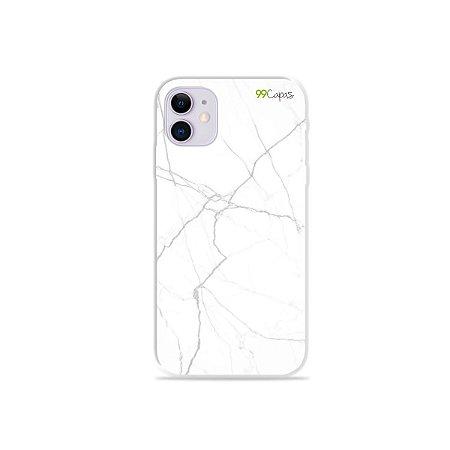Capa para iPhone 11 - Marble White