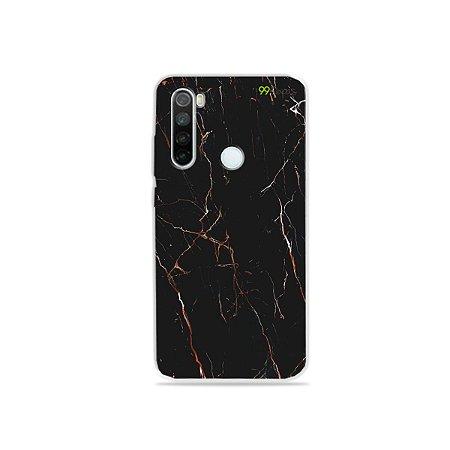 Capa para Xiaomi Redmi Note 8 - Marble Black