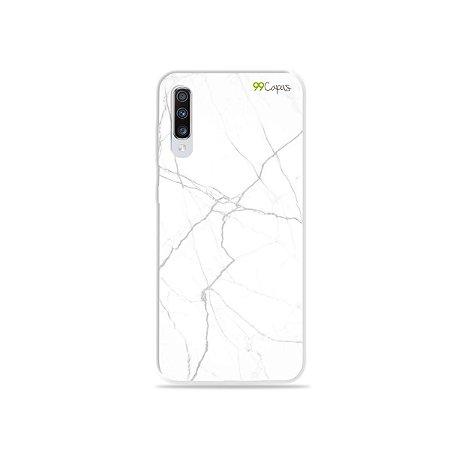 Capa para Galaxy A70 - Marble White