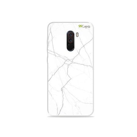 Capa para Xiaomi Pocophone F1 - Marble White