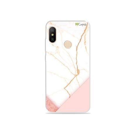 Capa para Xiaomi Mi A2 Lite - Marble
