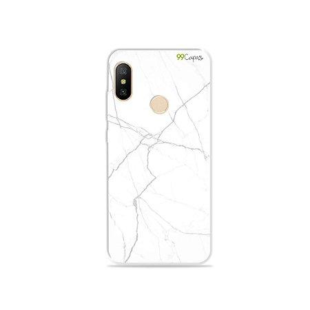 Capa para Xiaomi Mi A2 Lite - Marble White