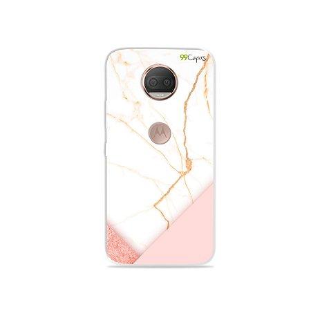 Capa para Moto G5S Plus - Marble