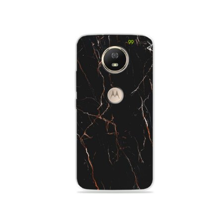 Capa para Moto G5S - Marble Black
