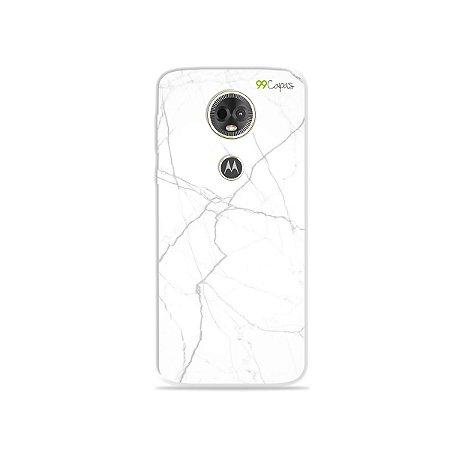 Capa para Moto E5 Plus - Marble White