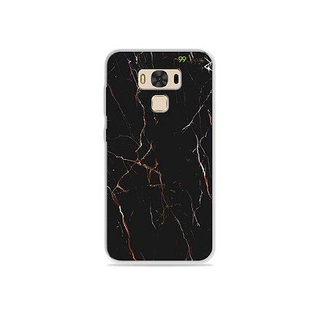 Capa para Zenfone 3 Max - 5.5 Polegadas - Marble Black