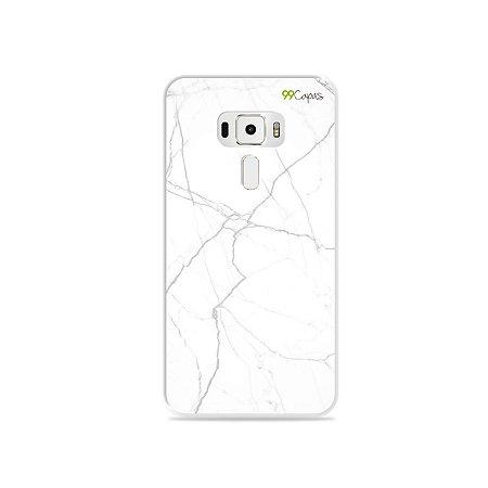 Capa para Zenfone 3 - 5.5 Polegadas - Marble White