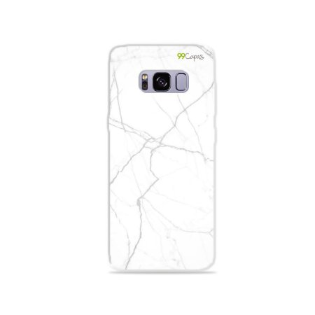 Capa para Galaxy S8 - Marble White