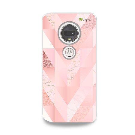 Capa para Moto G7 Plus - Abstract