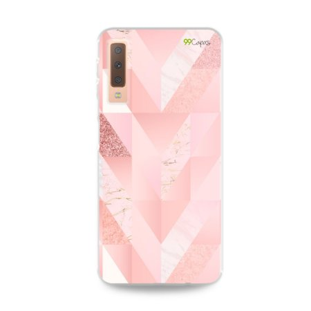 Capa para Galaxy A7 2018 - Abstract