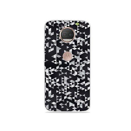 Capa para Moto G5S Plus - Geométrica