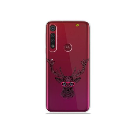 Capa para Moto G8 / G8 Plus - Alce Hipster