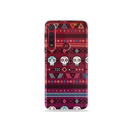 Capa para Moto G8 Plus - Tribal