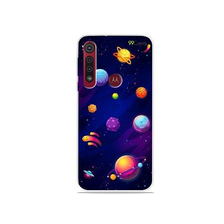 Capa para Moto G8 / G8 Plus - Galáxia