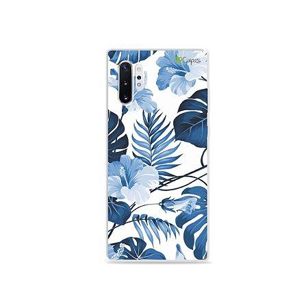 Capa para Galaxy Note 10 - Flowers in Blue
