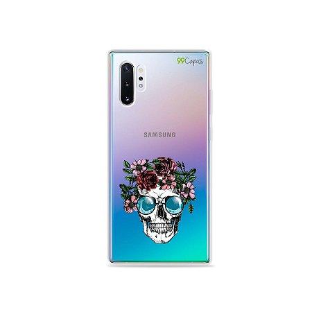 Capa para Galaxy Note 10 - Caveira