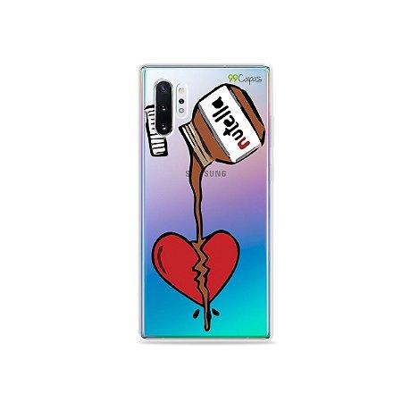 Capa para Galaxy Note 10 - Nutella
