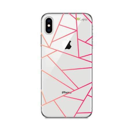 Capa para iPhone XS Max - Abstrata