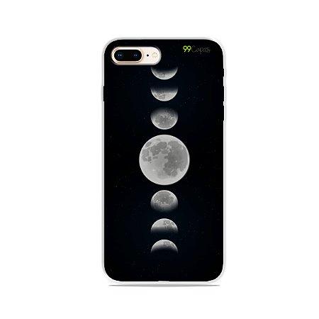 Capa para iPhone 8 Plus - Fases da Lua
