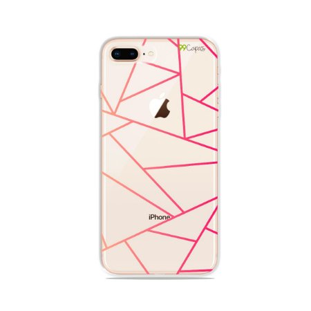 Capa para iPhone 8 Plus - Abstrata