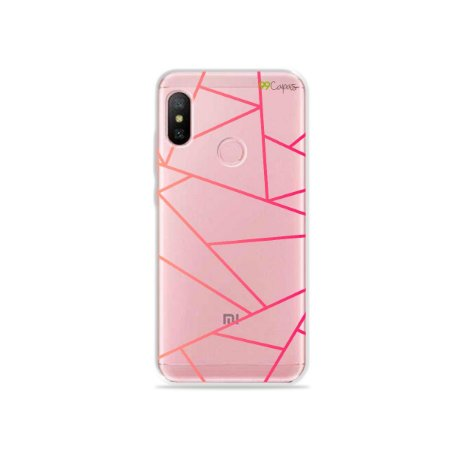 Capa para Xiaomi Redmi Note 6 - Abstrata