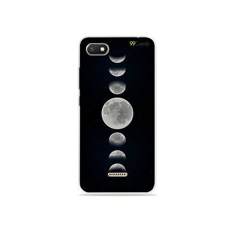 Capa para Xiaomi Redmi 6A - Fases da Lua