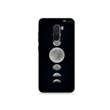 Capa para Xiaomi Pocophone F1 - Fases da Lua