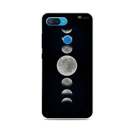 Capa para Xiaomi Mi 8 Lite - Fases da Lua