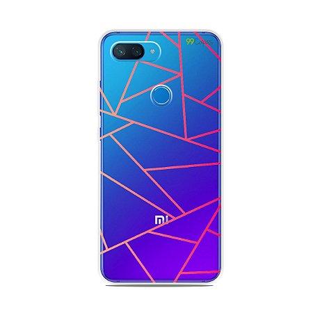 Capa para Xiaomi Mi 8 Lite - Abstrata