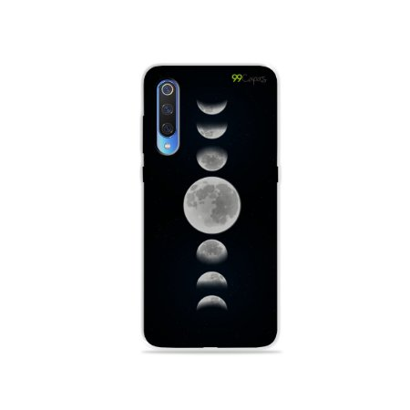 Capa para Xiaomi Mi 9 - Fases da Lua