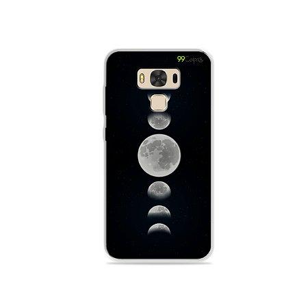 Capa para Asus Zenfone 3 Max - 5.5 Polegadas - Fases da Lua