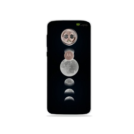 Capa para Moto G6 - Fases da Lua