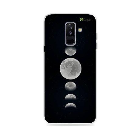 Capa para Galaxy A6 Plus - Fases da Lua