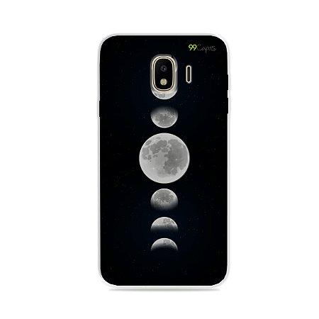 Capa para Galaxy J4 2018 - Fases da Lua
