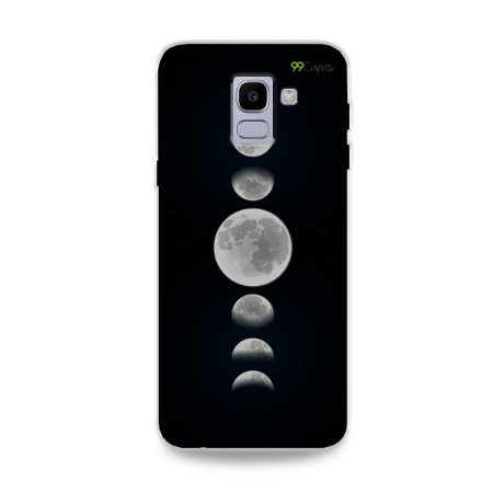 Capa para Galaxy J6 - Fases da Lua