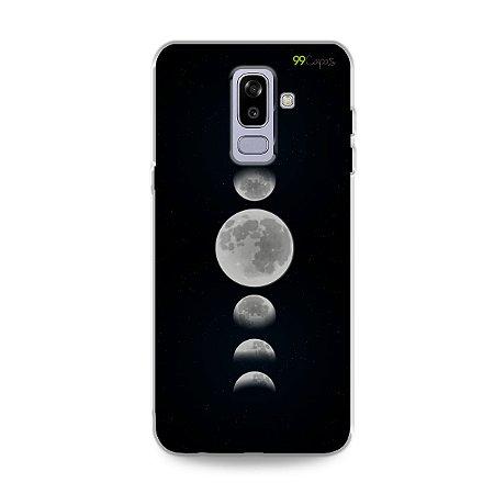 Capa para Galaxy J8 - Fases da Lua