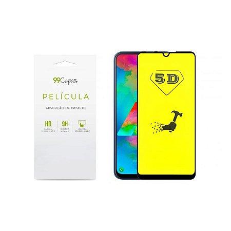 Película de Gel 5D (flexível) para Moto G8 Play - 99Capas