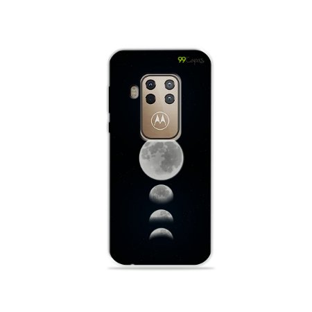 Capa para Moto One Zoom - Fases da Lua