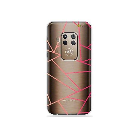 Capa para Moto One Zoom - Abstrata