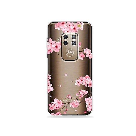 Capa para Moto One Zoom - Cerejeiras