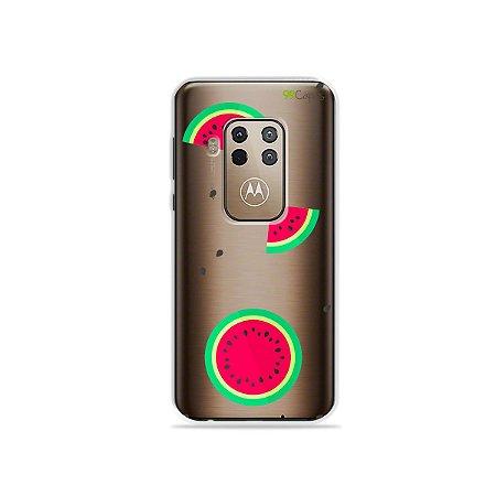 Capa para Moto One Zoom - Melancias