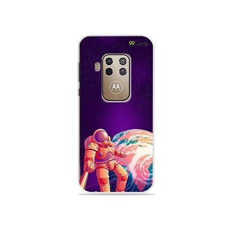 Capa para Moto One Zoom - Selfie Galáctica