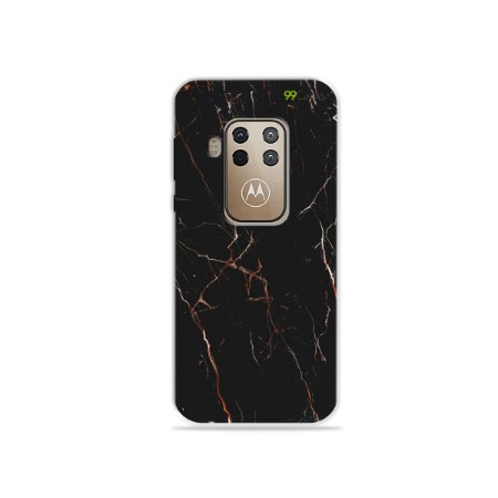 Capa para Moto One Zoom - Marble Black