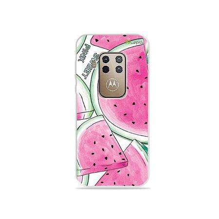 Capa para Moto One Zoom - Watermelon