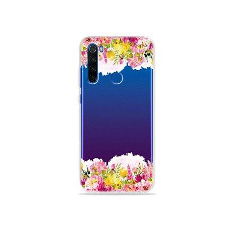 Capa para Xiaomi Redmi Note 8T - Botânica