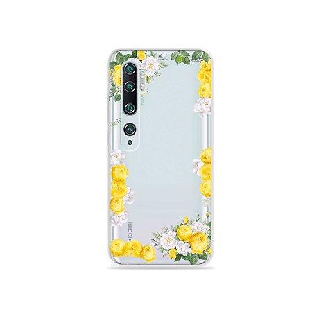 Capa para Xiaomi Mi Note 10 - Yellow Roses