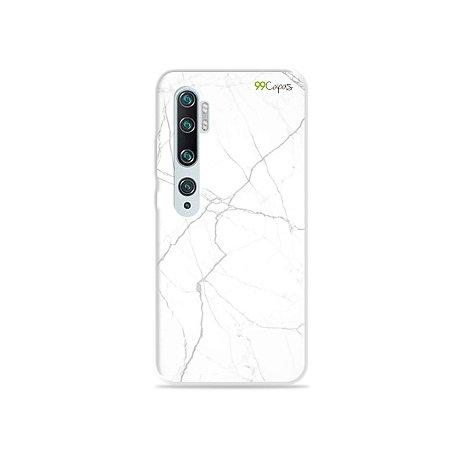 Capa para Xiaomi Mi Note 10 - Marble White